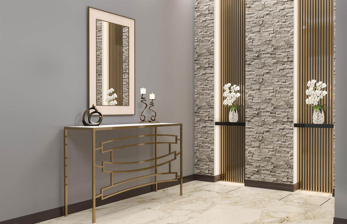 Luxury modern console table