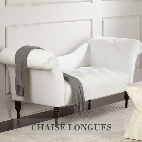 Luxury Designer Chaise Lounge